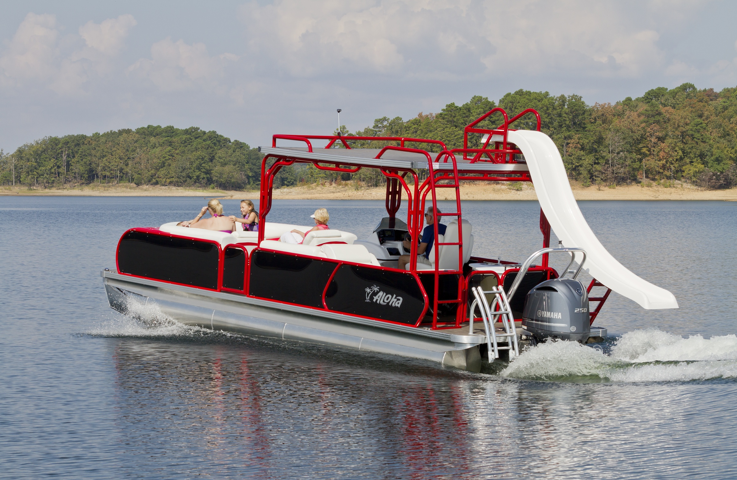 Aloha Pontoon Boats - Tropical 260 Sundeck - Star Powersports