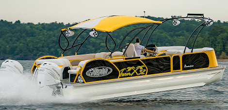 Star Powersports - Aloha Pontoon Boats - Twin X-32 Series